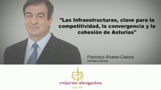 10/11/2017 Las Infraestructuras, clave para la competitividad, la convergencia y la cohesión