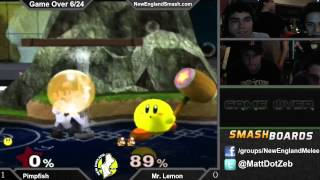 We had a kirby player do well at a local tournament. It was weird.