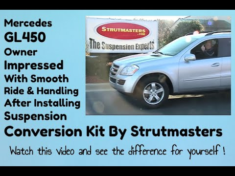 Mercedes GL450 4-Matic With An Air Suspension Conversion By Strutmasters / Ride Along Video