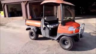 3. 2011 Kubota RTV 900 Diesel