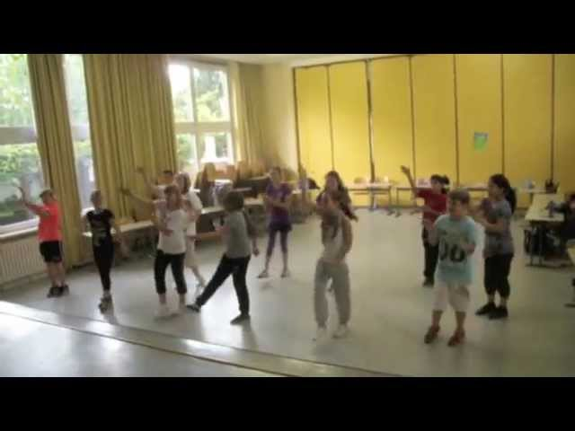 Video - Hip-Hop Dancer der Marienfelder Grundschule