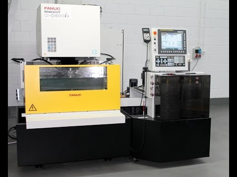 Wire Electrical Discharge Machine Fanuc ROBOCUT ALPHA C600IA 5 AWF 2015