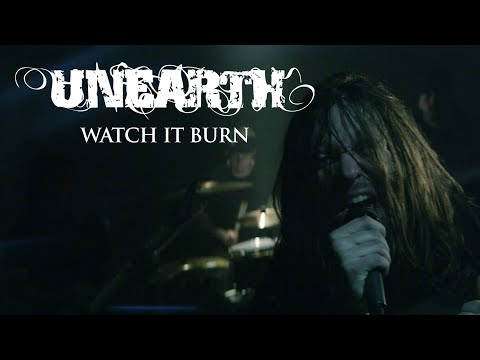 Unearth - Watch It Burn (HD1080p) (2012)