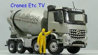 Conrad Mercedes-Benz Arocs Stetter Mixer 'Salomon' by Cranes Etc TV