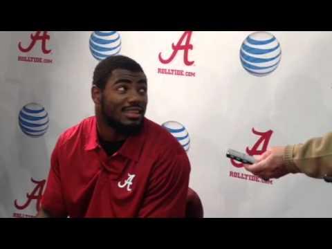 Landon Collins Interview 12/23/2013 video.