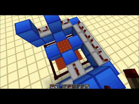 Minecraft 60 Sec Tutorial: Hidden Fireworks Launcher/ Weather Control Device