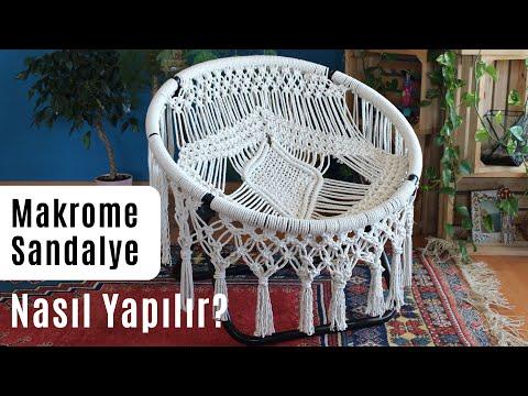 MAKROME SANDALYE / HAMAK NASIL YAPILIR?