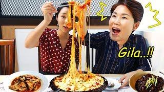 Video KEJU TERJUN!! Cheese buldak Korea terpedas! MP3, 3GP, MP4, WEBM, AVI, FLV Januari 2019