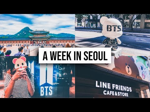 SEOUL VLOG: BTS Exhibition, K-Star Road, Bunny Café And Doing Tourist Stuff