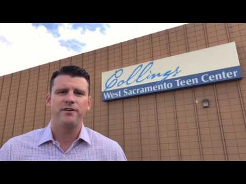 West Sac Teen Center Coat Drive -  Update (видео)