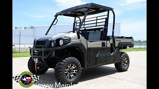 5. SALE $12,299: 2017 Kawasaki Mule Pro FX Ranch Edition Overview and Review