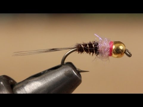 nymph - Detailed instructions for tying a Frenchie Nymph.