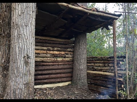 How To Build A Mountain Hut Trail Shelter - DIY Survival Shelter