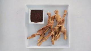 Easy Baked Churros- Sweet Talk with Lindsay Strand by Everyday Food