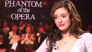 Emmy Rossum: The Phantom of the Opera Interview