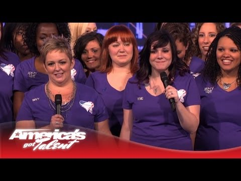 agt - The American Military Spouses Choir bring their sisterhood, and beautiful voices, to the AGT stage. They perform regularly to help with PTSD treatments. Subs...