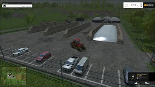Farming Simulator 2015 FS15 - How To Sell Silage