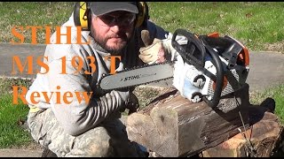 3. Stihl MS 193 T Chainsaw Review