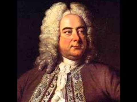 Handel - Harpsichord suite in D minor vol.2 No 4