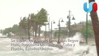 Tres huracanes amenazan al Caribe y Golfo de México