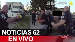 Joven latino murió en custodia de la policía de Fullerton. – Noticias 62. - Thumbnail