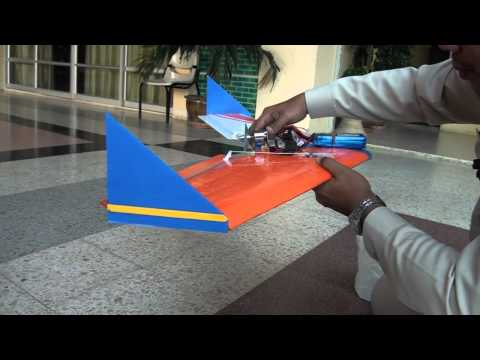สร้างเครื่องบินบังคับ ตอนFFปีกบิน