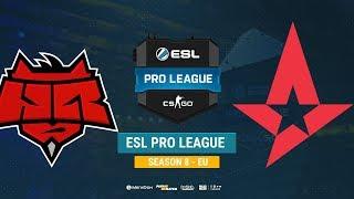 HellRaisers vs Astralis - ESL Pro League S8 EU - bo1 - de_train [Enkanis, ceh9]