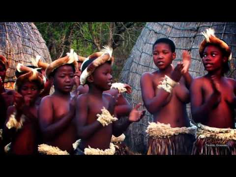 Beautiful Traditional African Zulu Dancing   Africa Travel Channel