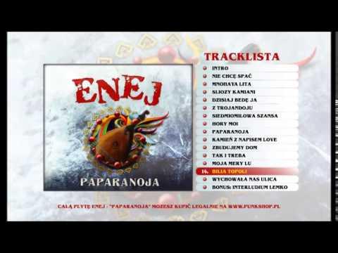 Tekst piosenki Enej - Bilia Topoli po polsku
