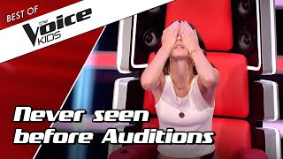 Video TOP 10 | NEVER SEEN BEFORE Blind Auditions in The Voice Kids MP3, 3GP, MP4, WEBM, AVI, FLV Agustus 2019