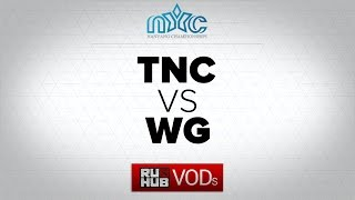TnC vs WGU, game 1