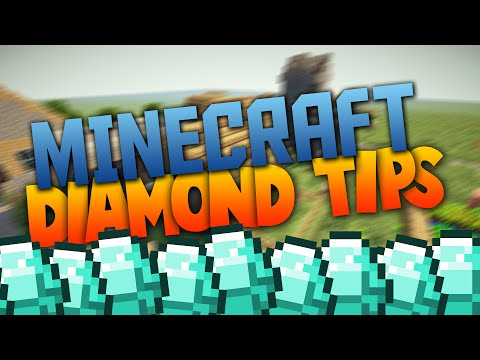 Minecraft: 5 TIPS FOR FINDING DIAMONDS! (Minecraft Tips & Tricks)