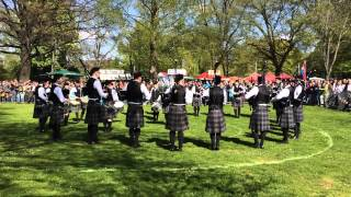 Peine Germany  city pictures gallery : Balagan Pipe Band, Open Grade, MSR, Pipe Band Competition Peine, Germany, 2 May 2015