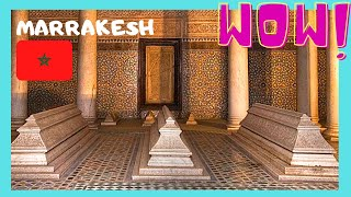 MARRAKECH, the Saadian Tombs (MOROCCO): Let's go visit the magnificent Saadian tombs in Marrakech which date back from ...