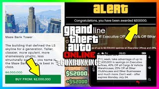 GTA ONLINE NEW DLC CONTENT DETAILS - FREE MONEY, SECRET UNEXPLAINED SALES, HIDDEN BONUSES & MORE! ►Cheap GTA 5 Shark Cards & More Games: https://www.g2a.com/r/mrbossftw►Find Out What I record With: http://e.lga.to/MrBoss Shark Card Giveaway:https://twitter.com/MrBossFTW/status/887356319325401088SOURCES:http://www.rockstargames.com/newswire/article/60240/Karin-Technical-Custom-Now-Available-in-GTA-Online-Plus-Overtime-Rumblhttps://www.reddit.com/r/gtaonline/comments/6o1imu/current_gunrunning_bonuses/My Facebook: https://www.facebook.com/MrBossFTWMy Snapchat:https://www.snapchat.com/add/MrBossSnapsMy Twitter: https://twitter.com/#!/mrbossftwMy Instagram:http://instagram.com/jamesrosshudginsFollow THE SQUAD:►Garrett (JoblessGamers) - https://www.youtube.com/Joblessgamers►DatSaintsfan - https://www.youtube.com/360NATI0N►MrBossFTW - https://www.youtube.com/MrBossFTWFollow Knifeguy (HE MAKES MY THUMBNAILS):https://www.youtube.com/channel/UCyvCZpUaXfCAYNHscgg8QrQCheck out more of my GTA 5 & GTA 5 Online videos! I do a variety of GTA V tips and tricks, as well as funny moments and information content all revolving around the world of Grand Theft Auto 5: http://www.youtube.com/playlist?list=PL4P1Iz2th7dUuZBXXYz8Wj5G4gQrM4bf1Hope you enjoyed this video! Thanks guys and have an awesome day,Ross.