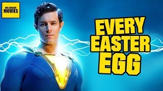Shazam! - All Easter Eggs, Cameos & Post Credits