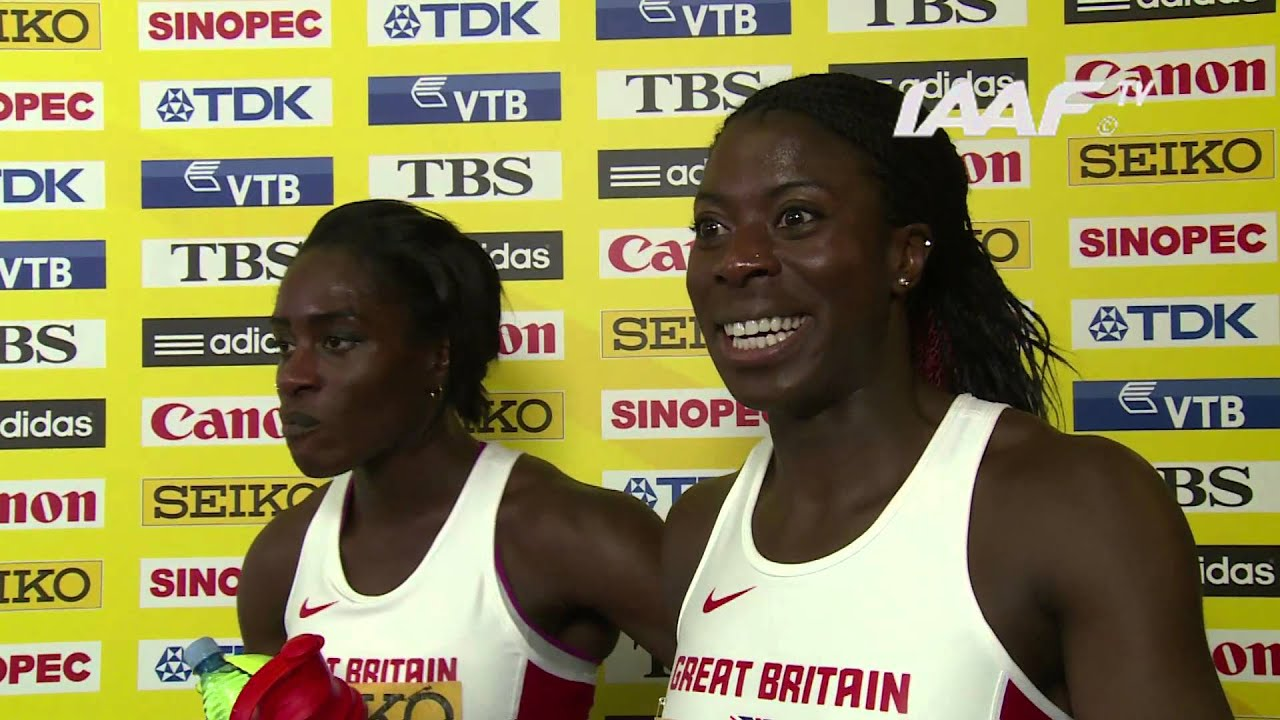 Sopot 2014 – GBR Relay Team Women – World Indoor Championships
