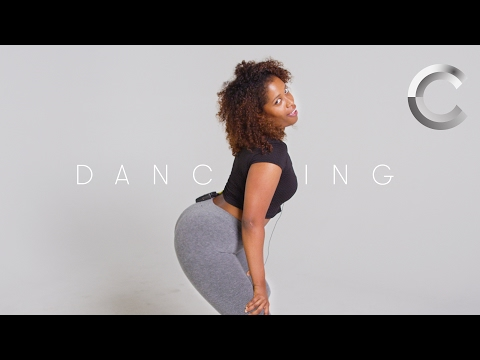 100 People Show Off Their GoTo Dance Move