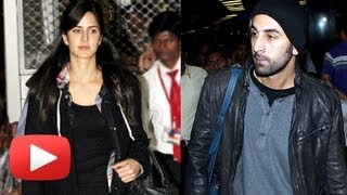 Ranbir Kapoor Katrina Kaif In A Vacation Mood
