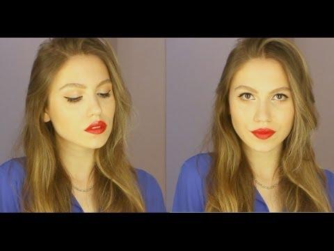 klasik - KULLANDIĞIM ÜRÜNLER: Make Up For Ever - HD Elixir Make Up For Ever - HD fondöten MAC - Prolongwear kapatıcı Bobbi Brown - Creamy concealer kit MAC - Painterly paintpot Benefit - Girl...