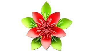 Цветы из бумаги Поделки оригами своими руками