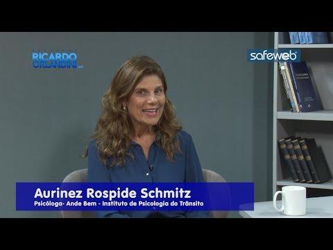 Ricardo Orlandini entrevista a psicóloga Aurinez Rospide Schmitz e o Prof. Dr. Giuliano Luchi, mestre e doutor em cirurgia bucomaxilofacial