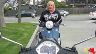 6. 2011 Vespa GTS 300 Review