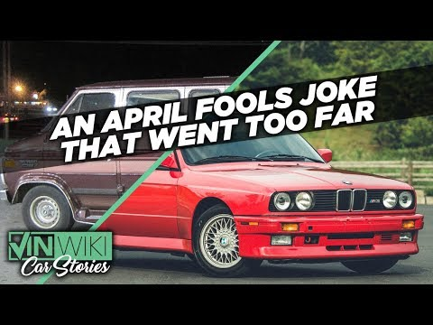 The April Fools car joke I forgot to reveal
