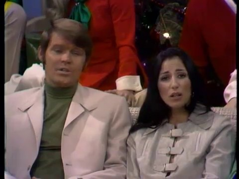 Glen, his Guests & TV Family - The Glen Campbell Goodtime Hour: Christmas Special (21 Dec 1969) (видео)