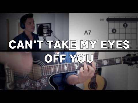 Can't Take My Eyes Off You Tutorial Cover - Guitarra [Mauro Martinez]