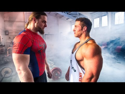 Strongman VS Bodybuilder - STRENGTH WARS 2k16 #4