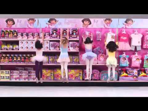 Target Commercial for Dora Ballet Adventures Collection (2011) (Television Commercial)