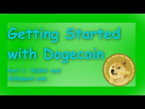 Getting Started with Dogecoin
