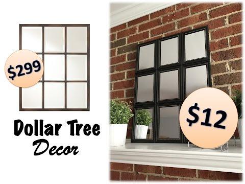 她從10元商店裡買了12片小鏡子後鋪排在地上,不到幾秒鐘就做出價值300美金的裝飾品!